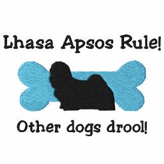 Lhasa Apsos Rule Embroidered TShirt