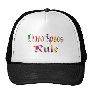 Lhasa Apsos Rule Trucker Hat