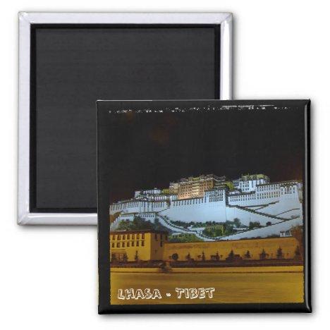 Lhasa, Potala Palace - Tibet 2 (Fridge Magnet)
