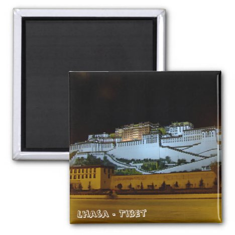 Lhasa, Potala Palace - Tibet (Fridge Magnet)