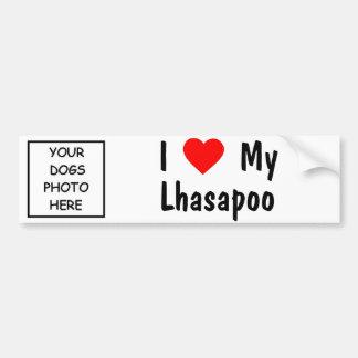 Lhasapoo Bumper Sticker