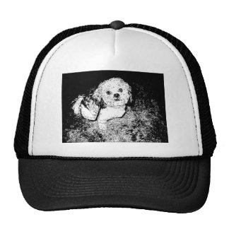 Lhaso Apso in Pen and Ink Trucker Hat