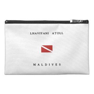 Lhaviyani Atoll Maldives Scuba Dive Flag Travel Accessories Bags