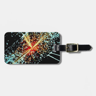 LHC Collision Luggage Tags