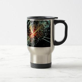 LHC Collision 15 Oz Stainless Steel Travel Mug