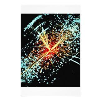 LHC Collision Stationery