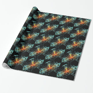 LHC Collision Wrapping Paper