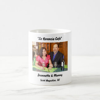 "LHCP 018, ""La Herencia Cafe"", Jeannette & Manny... Coffee Mug"