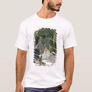 l'Herbe del sur del Dejeuner de Claude Monet el  , Playera