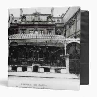 """L'Hotel de Paiva en el Champs-Elysees Carpeta 1 1/2"""""""