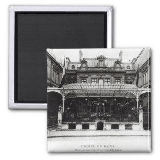 L'Hotel de Paiva en el Champs-Elysees Imán Cuadrado