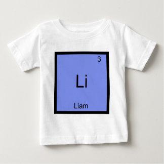 Li - Liam Chemistry Element Symbol Name T-Shirt