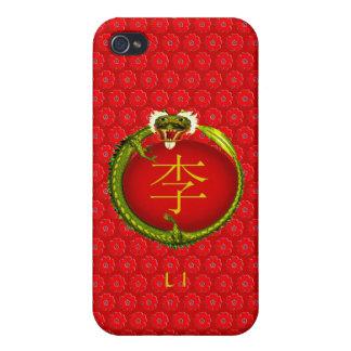 Li Monogram Dragon iPhone 4/4S Cover