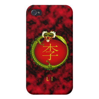 Li Monogram Dragon iPhone 4 Cover