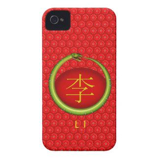 Li Monogram Snake iPhone 4 Case-Mate Case