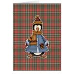 liado pingüino tarjeta de felicitación