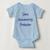 Liam Baby Name Meaning Bodysuit
