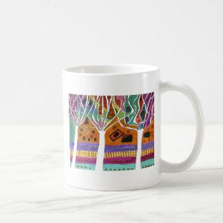 Liam Olive Classic White Coffee Mug