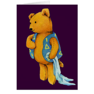 """""""Liam"""" Teddy Bear Greeting Card"""