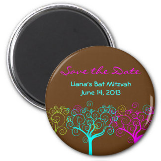 Liana Claire Bat Mitzvah Save the Date Magnet