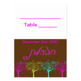 Liana Claire Bat Mitzvah Wedding Table Card Business Card