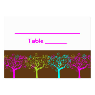 Liana Claire Bat Mitzvah Wedding Table Card Business Card Template