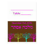 Liana Claire Bat Mitzvah Wedding Table Card Business Cards