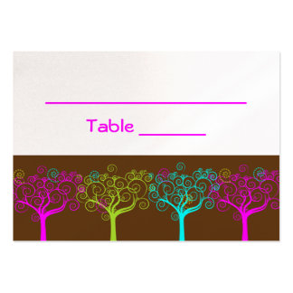 Liana Claire Shimmery Bat Mitzva Wedding TableCard Business Cards