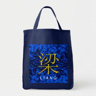 Liang Monogram Tote Bags
