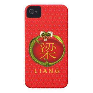 Liang  Monogram Dragon iPhone 4 Case-Mate Case