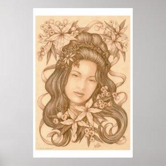 Lianna poster print
