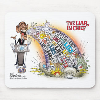 Liar in Chief Mouse Pad