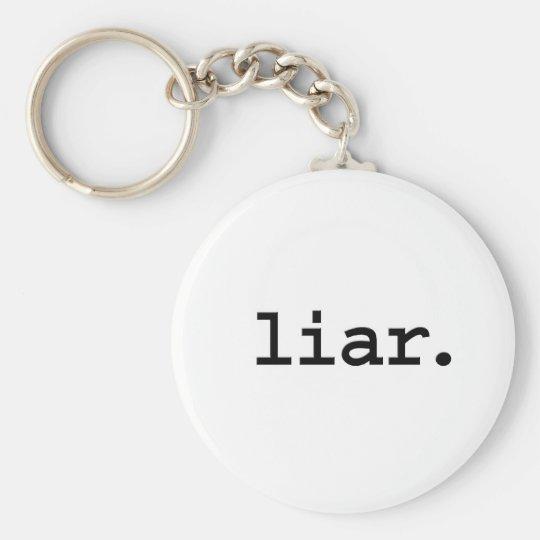 liar. keychain
