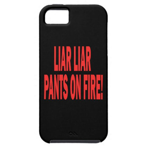 Liar Liar iPhone 5 Covers