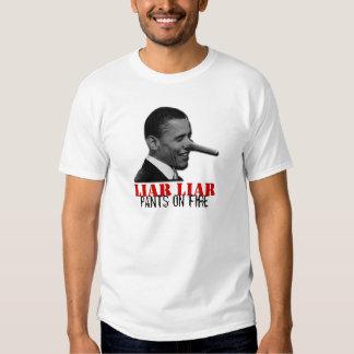 Liar Liar Pants on Fire T-shirts