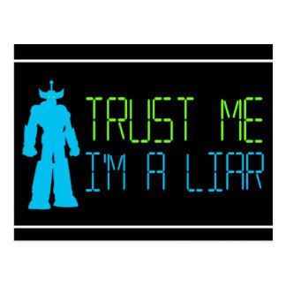 Liar, Liar Postcard
