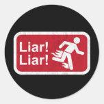 Liar Liar Stickers