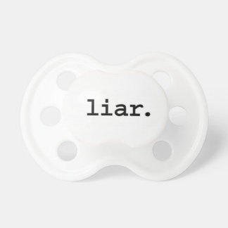 liar baby pacifier