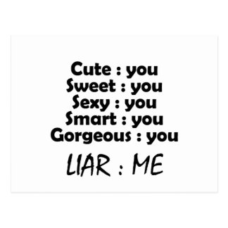 liar postcard
