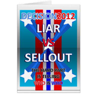 Liar vs Sellout Card