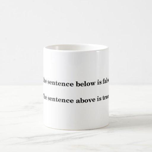 Liar's Paradox Coffee Mug