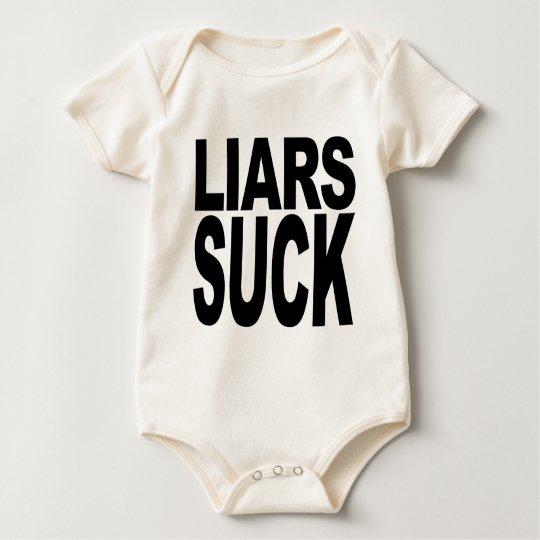 Liars Suck Baby Bodysuit