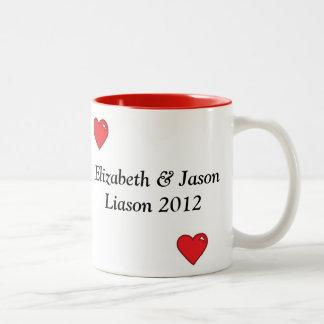 Liason 2012 Two-Tone coffee mug