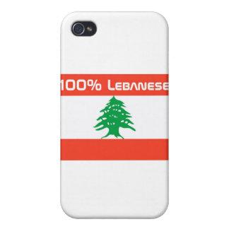 Libanés del 100% iPhone 4/4S fundas