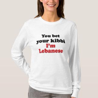 Libanés Kibbi 2 Playera