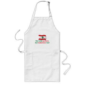 Libanés perfecto delantal largo