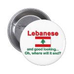 Libanés y apuesto pin