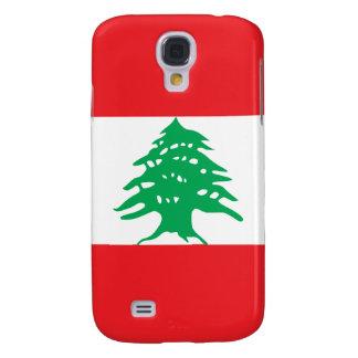 Líbano - bandera libanesa funda para galaxy s4