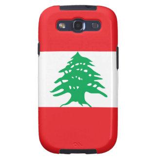 Líbano - bandera libanesa galaxy SIII coberturas