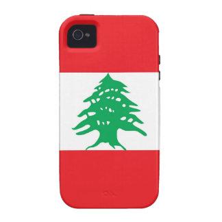 LÍBANO VIBE iPhone 4 CARCASA